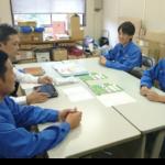 ろうきん推進活動展開中!(筑紫工場分会)
