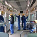 組合員一丸となり感染防止活動、筑紫工場分会