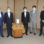 「令和2年7月豪雨災害」義援金カンパ、福岡県に贈呈